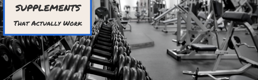 The Peri Workout Supplements That Actually Work – Part 1: Pre-Workout