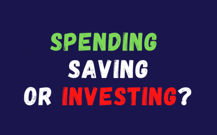 Spending, Saving or Investing? An Infographic