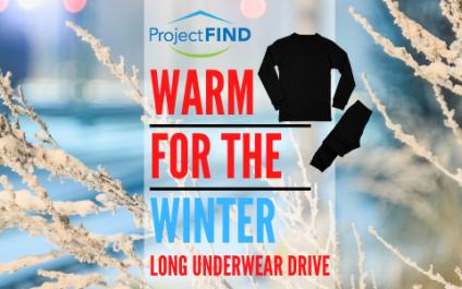 Warm for the Winter – Long Underwear Drive