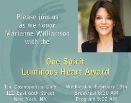 The 3rd Annual One Spirit Learning Alliance Luminous Heart Breakfast
