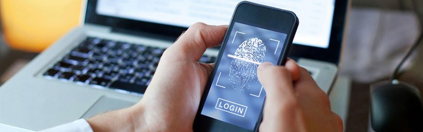 Protect your private data with mobile device-based biometrics