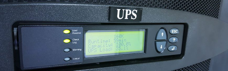 Gear up your network equipment with UPS