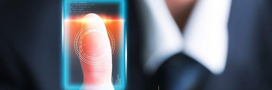 Mobile phone biometrics enhances security