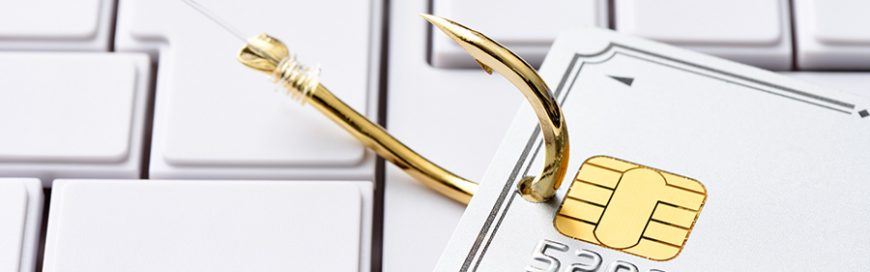 What happens in a phishing attack?