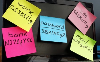Use strong PASSWORDS!