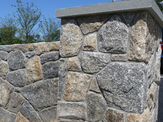 New England Mosaic Column