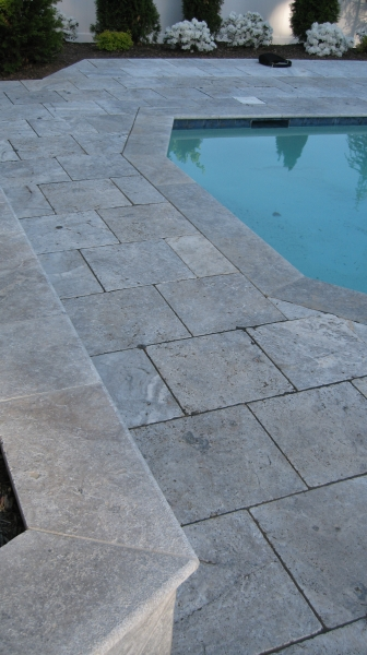 Travertine - Silver 1