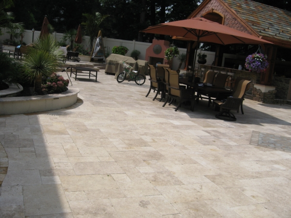 Travertine - Walnut