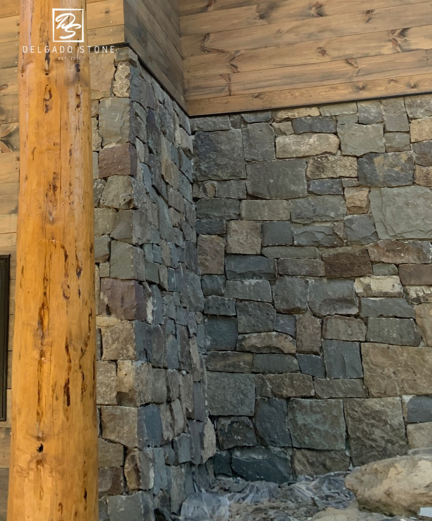 Fieldstone Dark square and rectangle