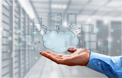 cloud servers secured in datacenters
