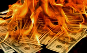 Quit setting your money on fire