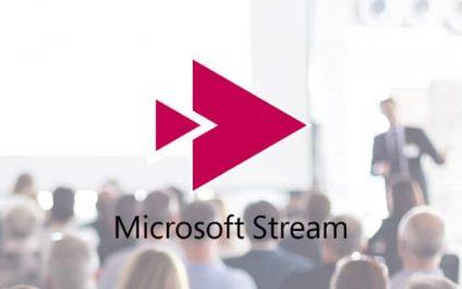 Working smarter with Microsoft Stream