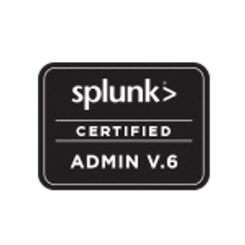 Splunk Certified Admin