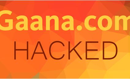 Gaana.com Hacked, 10 Million Users' Details Exposed