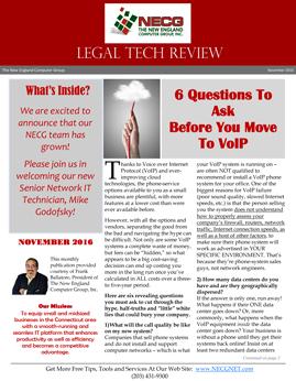 Newsletter - November 2016