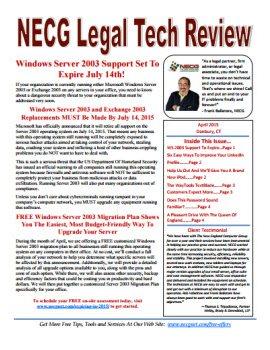 Newsletter - April 2015