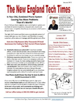 Newsletter - January 2015