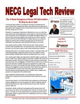 Newsletter - July 2015