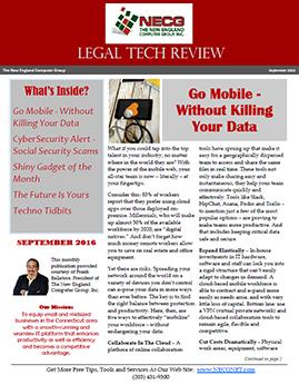 Newsletter - September 2016