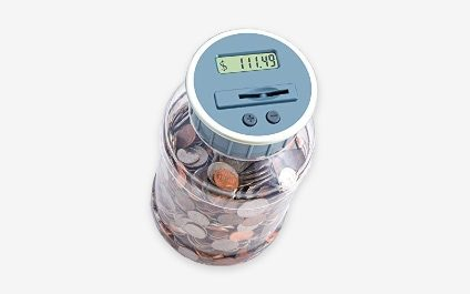 SHINY NEW GADGET OF THE MONTH: M&R Digital Counting Coin Bank