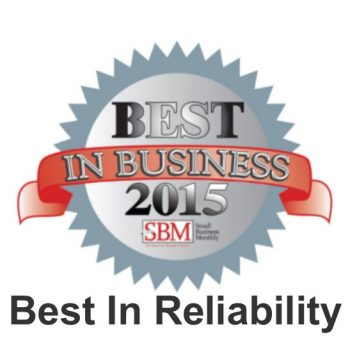 SBM Best In Reliability 2015