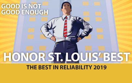 Certified NETS's named by St. Louis Small Business Monthly's: Best in Reliability