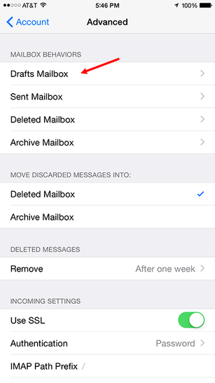 Set up Rackspace email on your iPhone or iPad - Fort