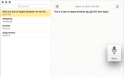 Learn how to dictate to your Mac when you don't feel like typing