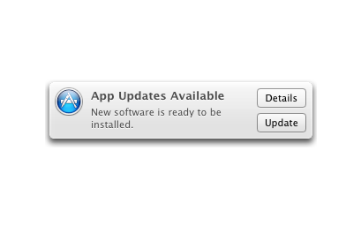 Software updates: The app store is your friend