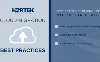 What are the best practices for a successful cloud migration?