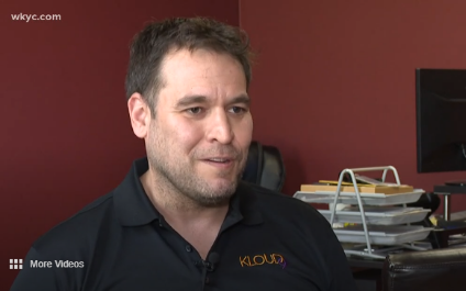 Trent Milliron, CEO and founder of Kloud9 IT on wkyc3