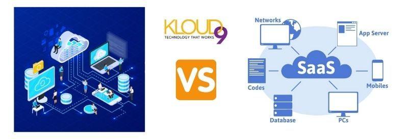 Cloud Computing vs. SaaS: Essential Part Of Digital Transformation
