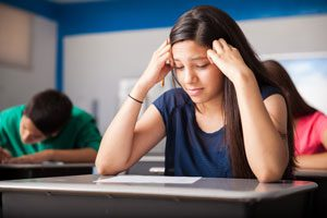 How to recognise if your teenager is not coping with exam stress