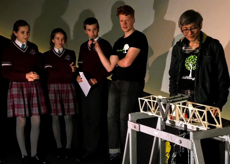 Year 9 students build bridges at Scitech (6)