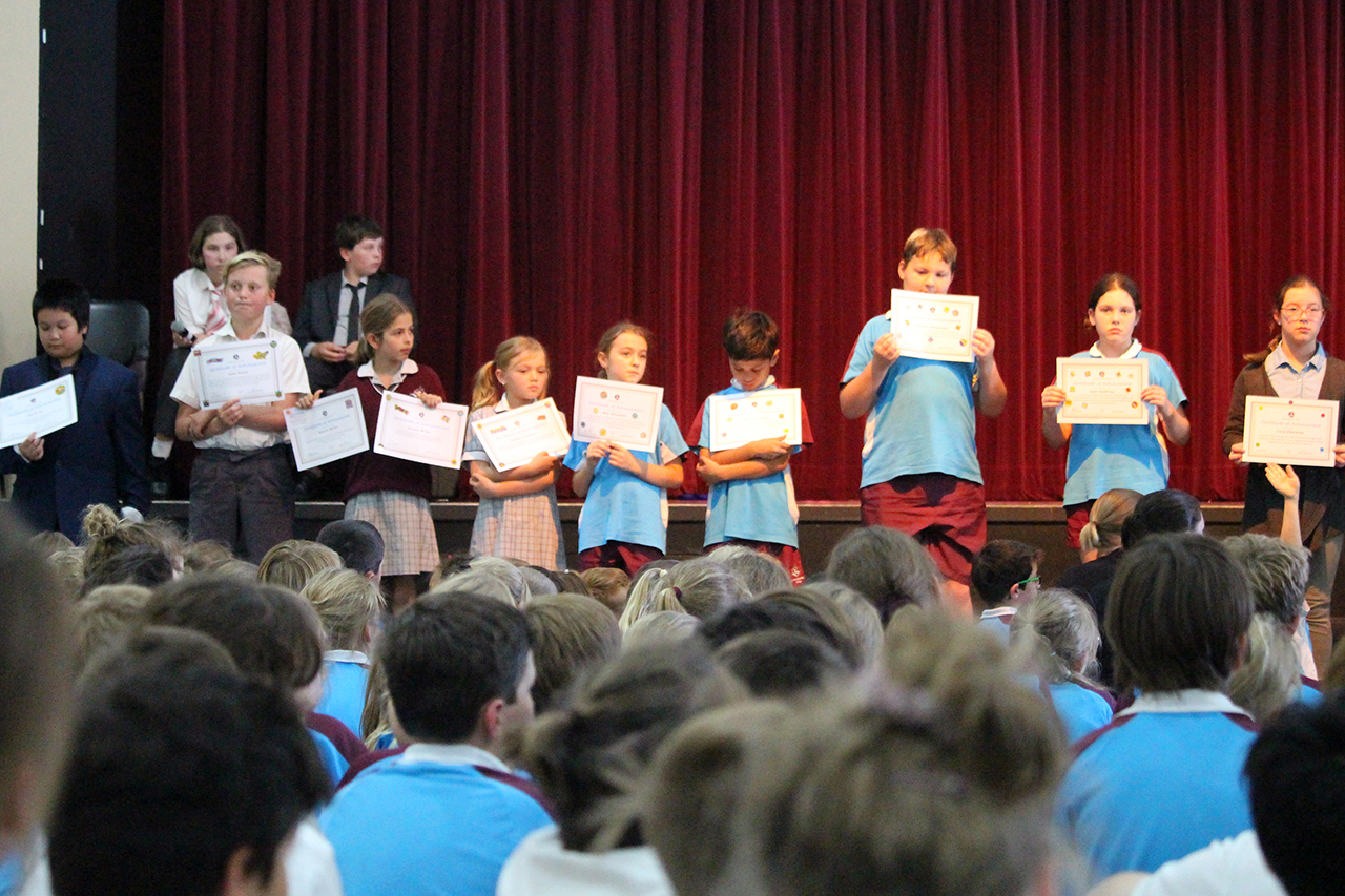 Assembly and Awards 6RC Election Time (7)