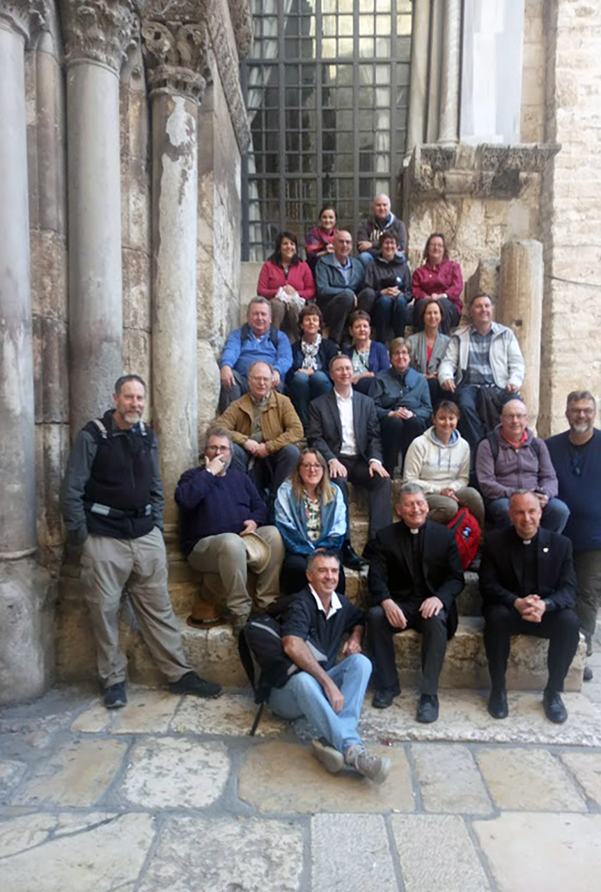 Holy Sepulchre group photo
