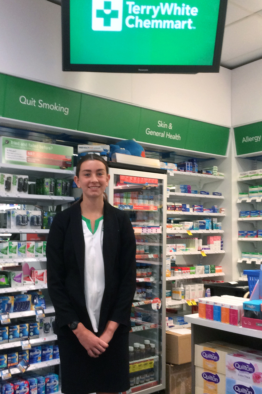 Tia@Terry White Pharmacy Busselton