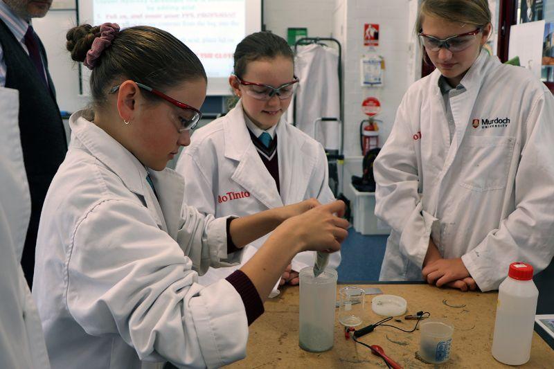Murdoch University's 'Metal Men' inspire STEM careers (2)
