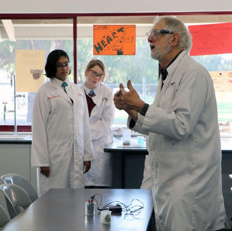Murdoch University's 'Metal Men' inspire STEM careers (7)