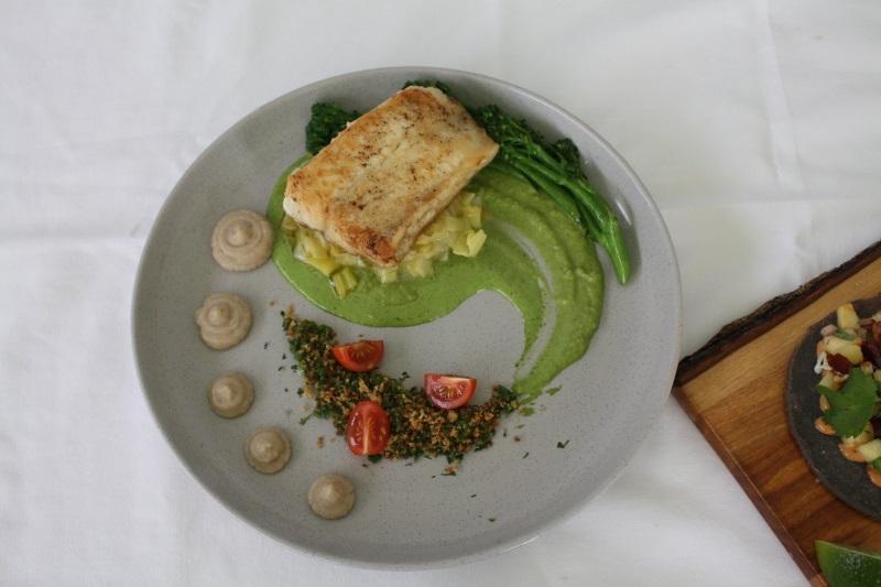 Teneisha Plate of Food