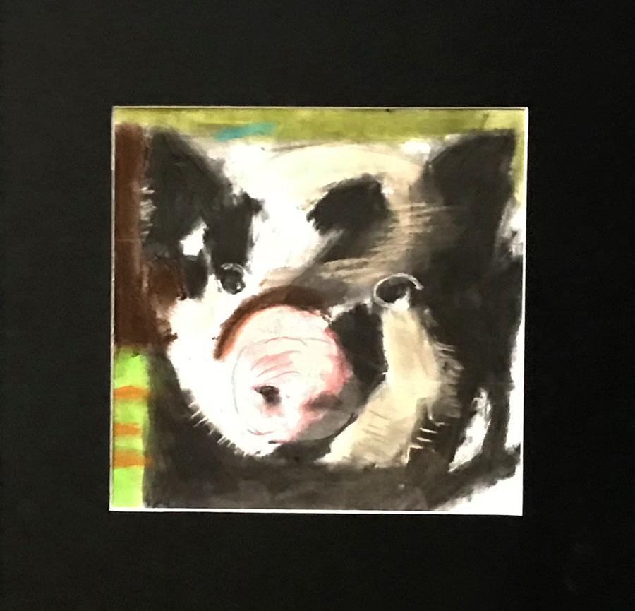 Oscar Buck - pig