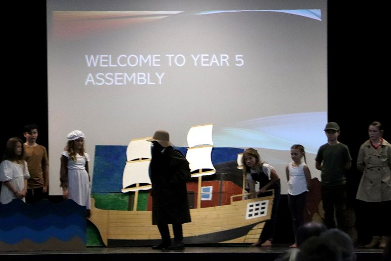 Year 5 Assembly (1)