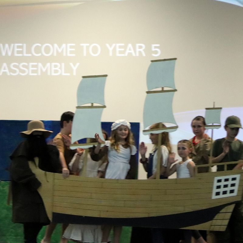 Year 5 Assembly (2)