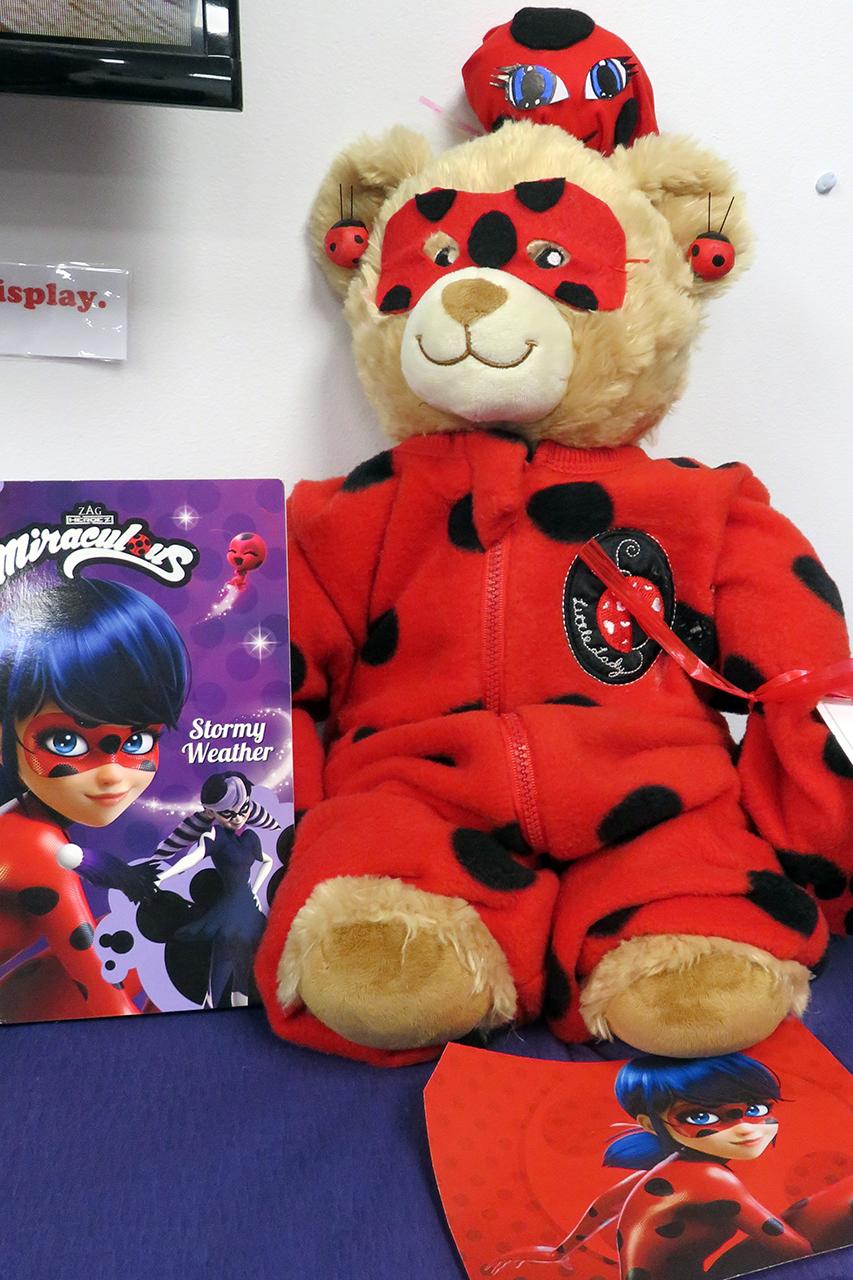 Ladybug superhero - Olivia Johnson