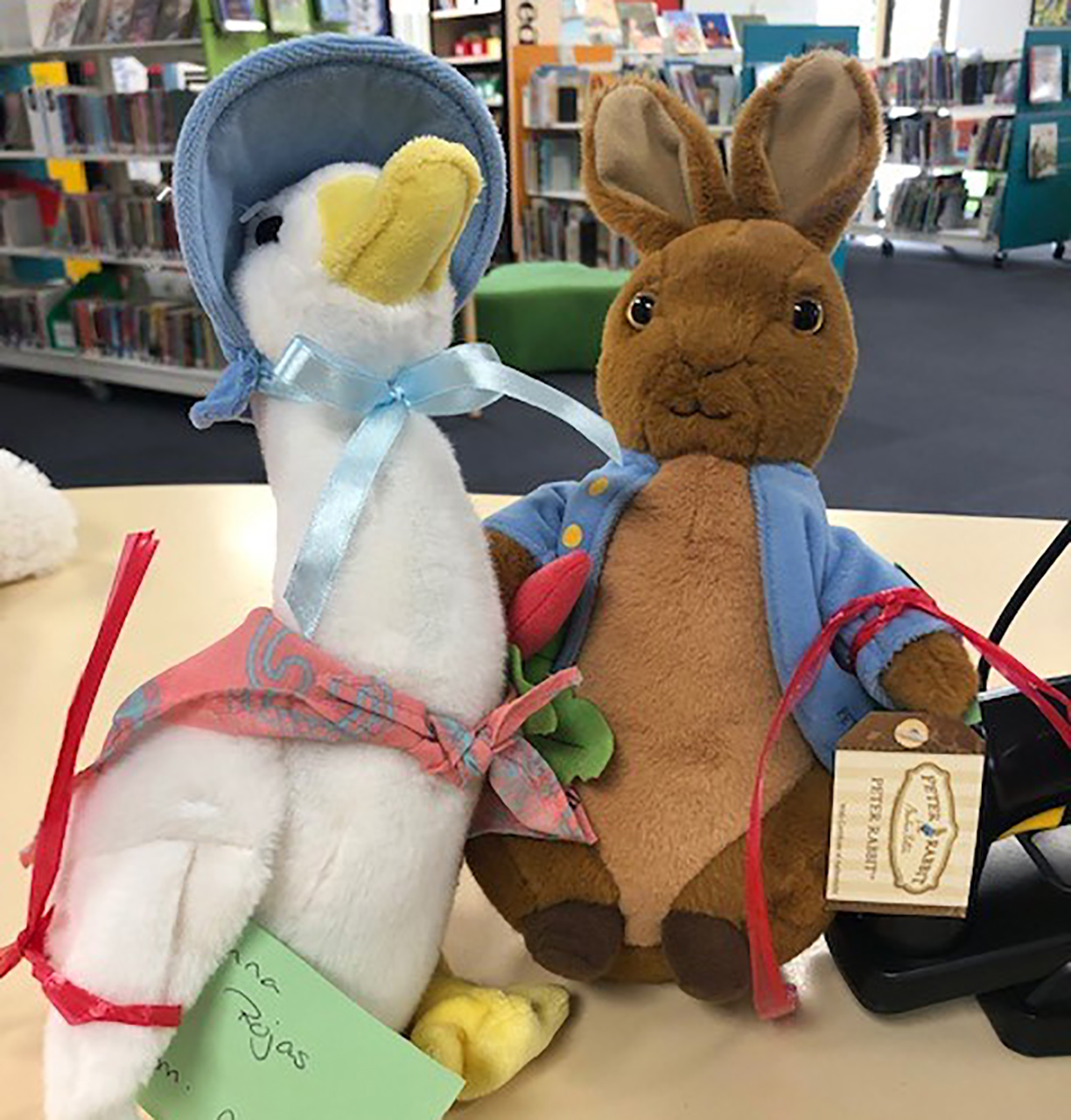 Peter Rabbit and Jemima Puddle-Duck - Sienna Rojas