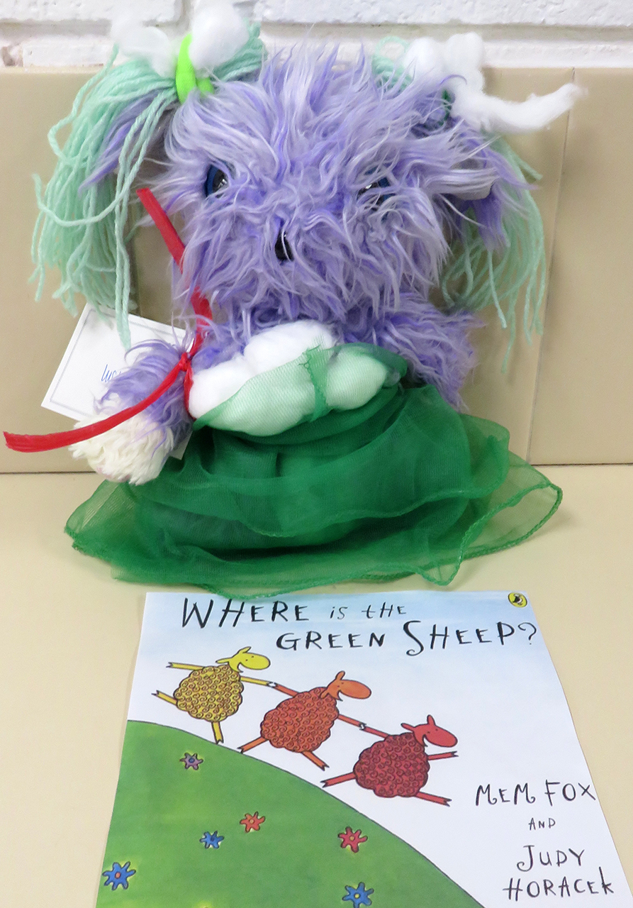Where Is The Green Sheep - Olivia Curtis