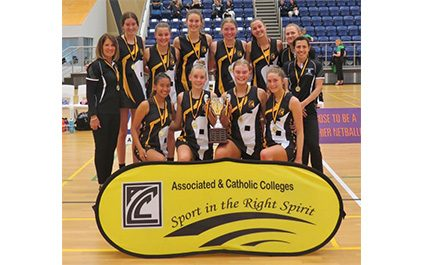 ACC Girls All Stars Netball Team win