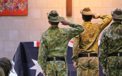 Cadets share ANZAC spirit at special assembly