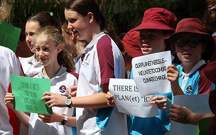 Students stand up for the environment
