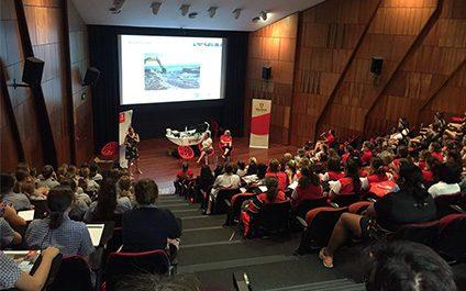 Girls attend WISE Women Showcase @Murdoch